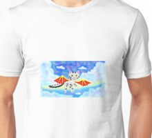 Flying Among The Clouds Unisex T-Shirt
