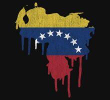 Venezuela Paint Drip One Piece - Short Sleeve