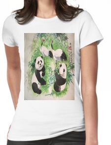 bamboo orchestra Womens Fitted T-Shirt