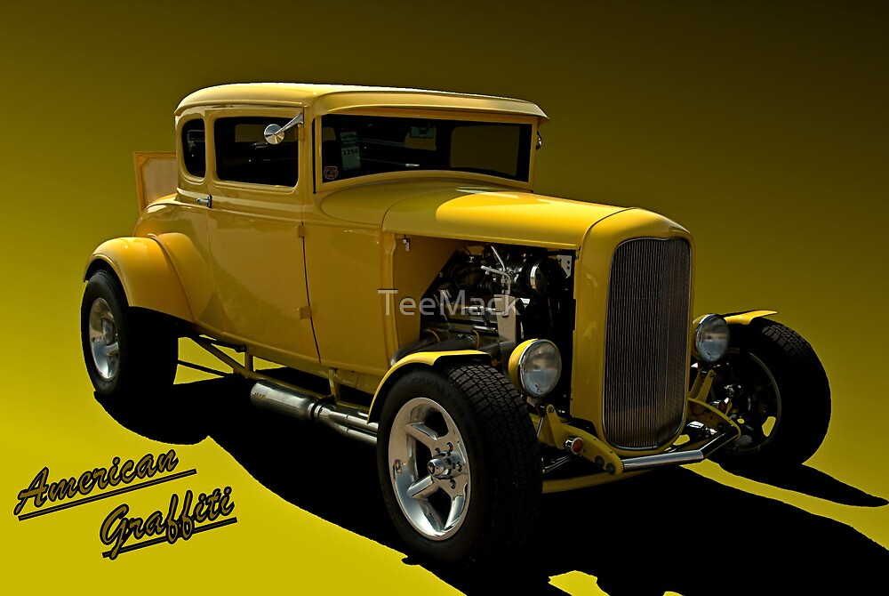 """1931 Ford """"American Graffiti"""" Hot Rod Coupe Replica by TeeMack"""