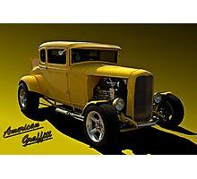 """1931 Ford """"American Graffiti"""" Hot Rod Coupe Replica Photographic Print"""