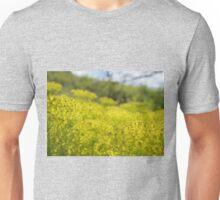 Yellow Flower Patch Unisex T-Shirt