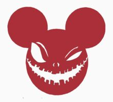 Scary Mickey Red by Patrick Williams