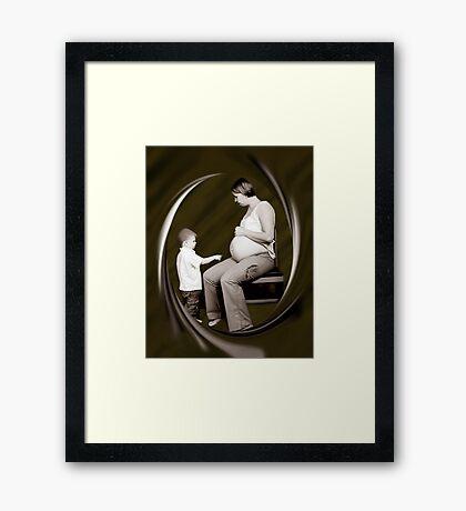 ✿◕‿◕✿  ❀◕‿◕❀ CURIOSITY ✿◕‿◕✿  ❀◕‿◕❀ Framed Print