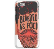 BEARDS ARE AWESOME iPhone Case/Skin