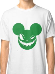 Scary Mickey Green Classic T-Shirt
