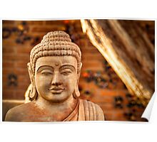 WINTER BUDDHA. Poster
