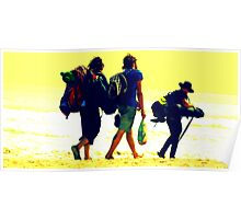 beach gypsies Poster