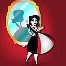 Twisted - Snow White iPhone case by Lauren Eldridge-Murray