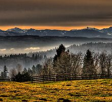 Lord's Hill and Cascades by Steve Walser