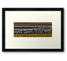 Lord's Hill and Cascades Framed Print