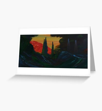 Ravine Greeting Card