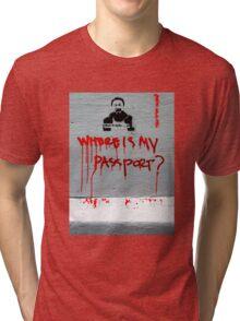 Ai WeiWei Tri-blend T-Shirt