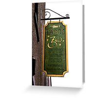 Madam Zia's Tarot Readings Greeting Card