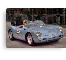 Porsche 550 Spyder Replica 1961 Canvas Print