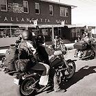 Tallangatta Hotel, Motorcycle group - Tallangatta Picture by jenenever