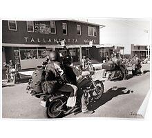 Tallangatta Hotel, Motorcycle group - Tallangatta Picture Poster