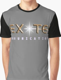 Lex-Tel Communications Logo Graphic T-Shirt