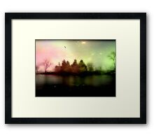 Magic falls upon the night... © Framed Print