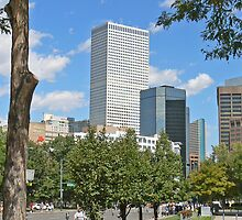Denver Downtown by Graeme  Hyde