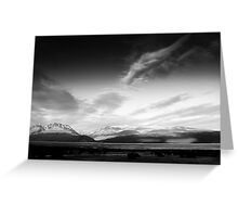 Southern Alps, New Zealand Greeting Card