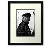 Momentarily distracted ... Framed Print