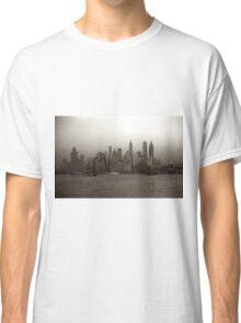 Vintage New York City Skyline Photograph (1941) Classic T-Shirt