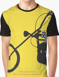 No333 My EASY RIDER minimal movie poster Graphic T-Shirt