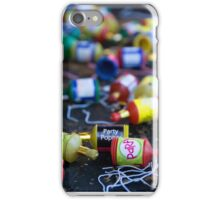 Party Line iPhone Case/Skin