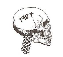 Vintage Skull Photographic Print