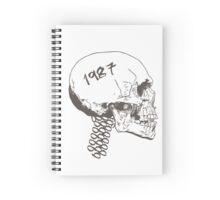 Vintage Skull Spiral Notebook