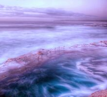 Bogey Hole - Purple Haze II by Brad Woodman