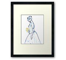 Emotional Bride Framed Print