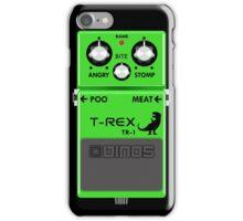 T-Rex Distortion Pedal iPhone Case/Skin