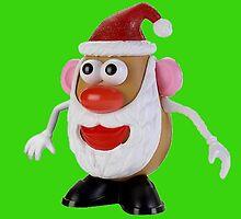 Santa potato by Wallfower