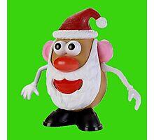 Santa potato Photographic Print