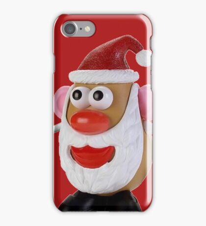 Santa potato iPhone Case/Skin