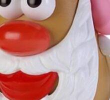 Santa potato Sticker