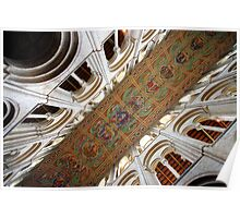 Ely Cathedral Ceiling Poster