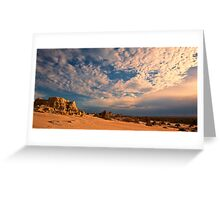 Mungo Madness - Mungo NP, NSW Greeting Card