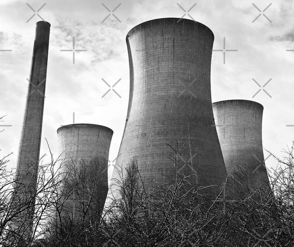 Cooling Towers by Geoff Carpenter