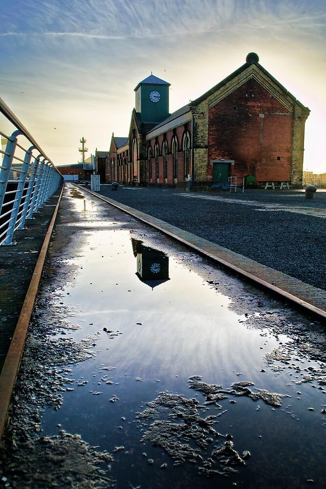 Titanic Series No1. Thompson Drydock Pumphouse by Chris Cardwell