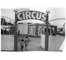 Circus Excitement! Poster