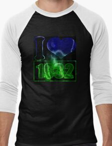 I love 1932 - lighting effects T-Shirt Men's Baseball ¾ T-Shirt