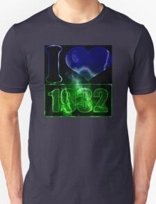 I love 1932 - lighting effects T-Shirt T-Shirt