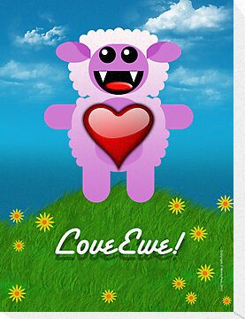 LOVE EWE! by peter chebatte