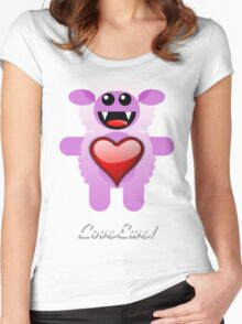 LOVE EWE! Women's Fitted Scoop T-Shirt