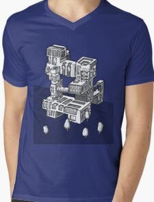 Tower Mens V-Neck T-Shirt