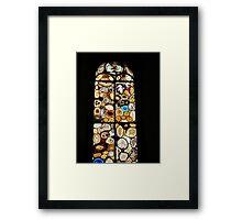 The agate window I Framed Print