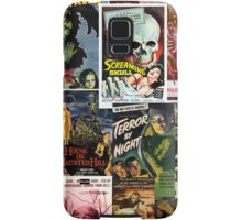 Monster Movie Posters Samsung Galaxy Case/Skin